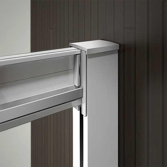 90x90 duschkabine viertelkreis runddusche duschabtrennung schiebet r glas p298 ebay. Black Bedroom Furniture Sets. Home Design Ideas