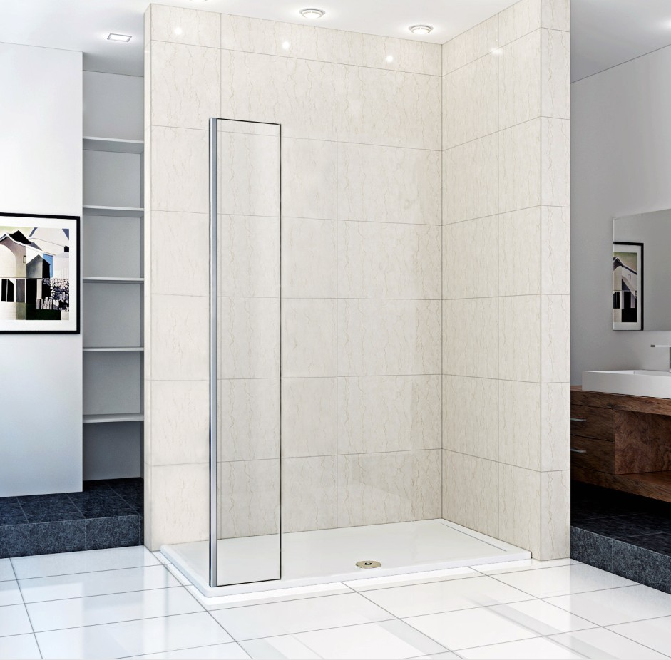 Small fix panel 200 300mm only sale for Wet room shower screen 400mm