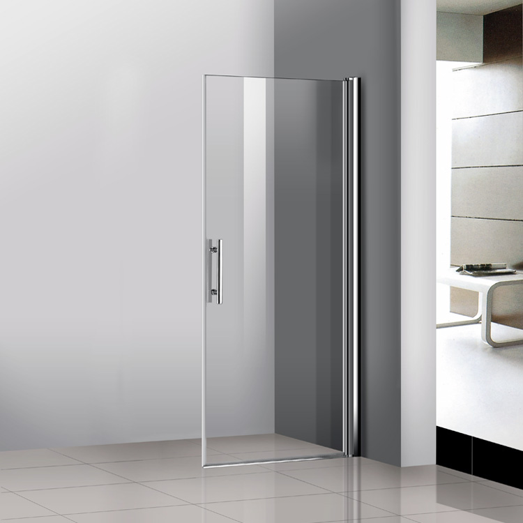 Sliding glass bathroom doors