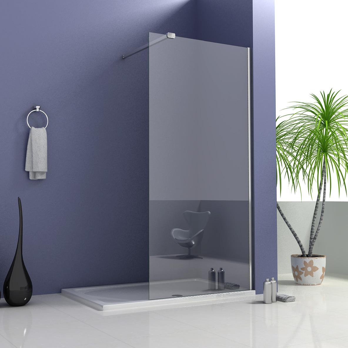 Walk In Shower Enclosure Luxury Wet Room Shower Enclosure Panel Walk In 8mm Easyclean Glass