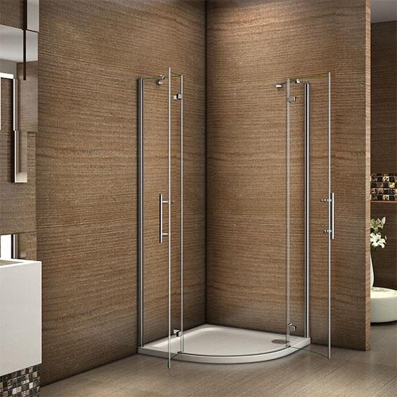 800x800 900x900mm Quadrant Shower Enclosure Frameless