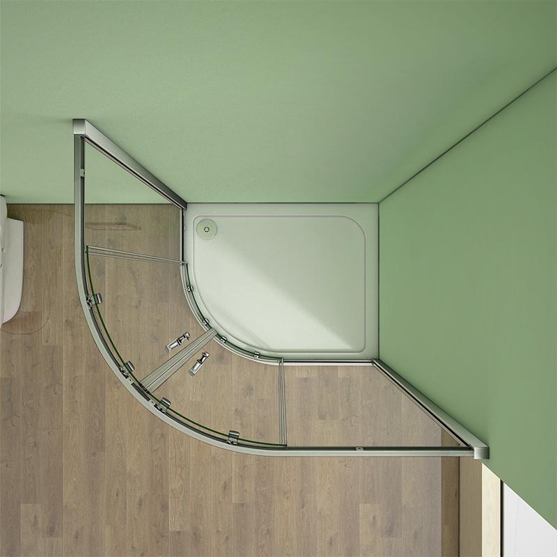 Quadrant Shower Enclosure 6mm Easyclean Glass Corner