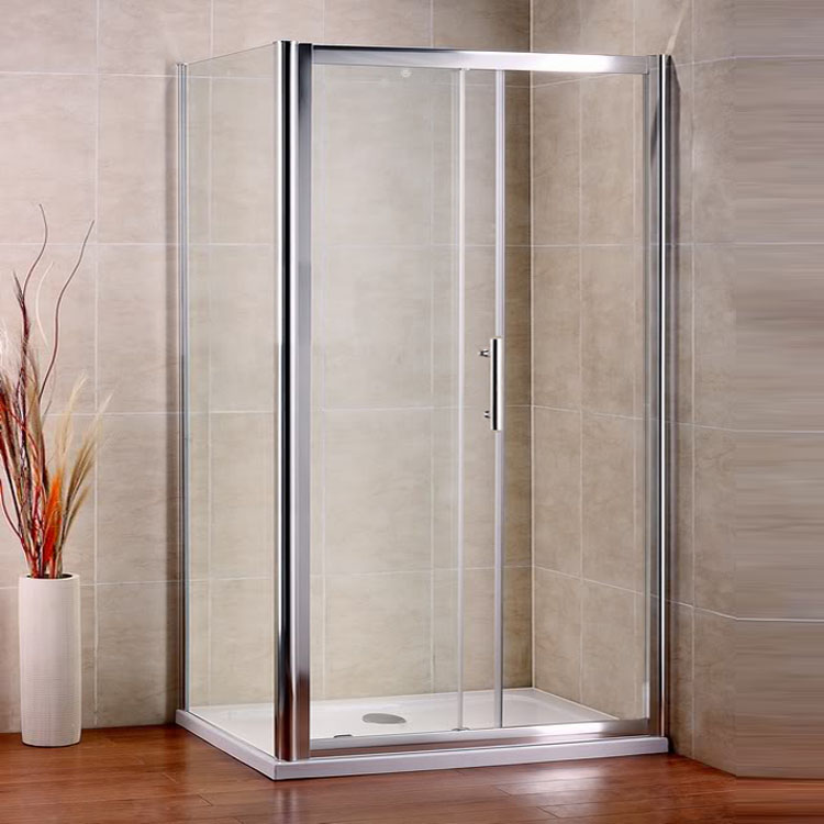 Bathroom Sliding Door Shower Enclosure Screen Cubicle Side Panel And ...