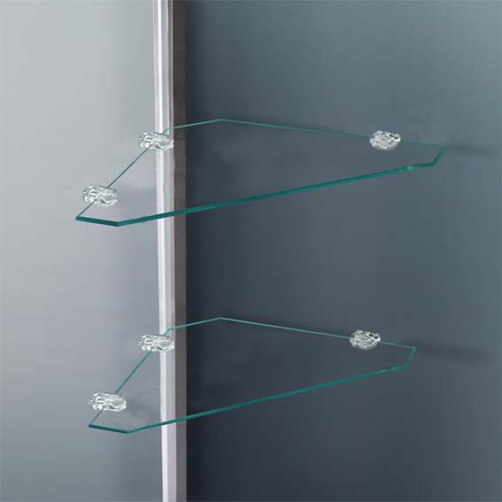 walk in shower enclosure cubicle bathroom glass door