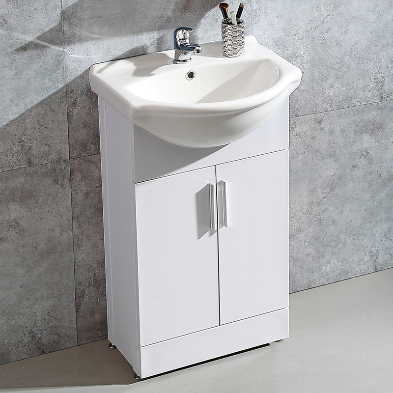 Badmöbel Badezimmermöbel Waschbecken Mit Unterschrank Weiß