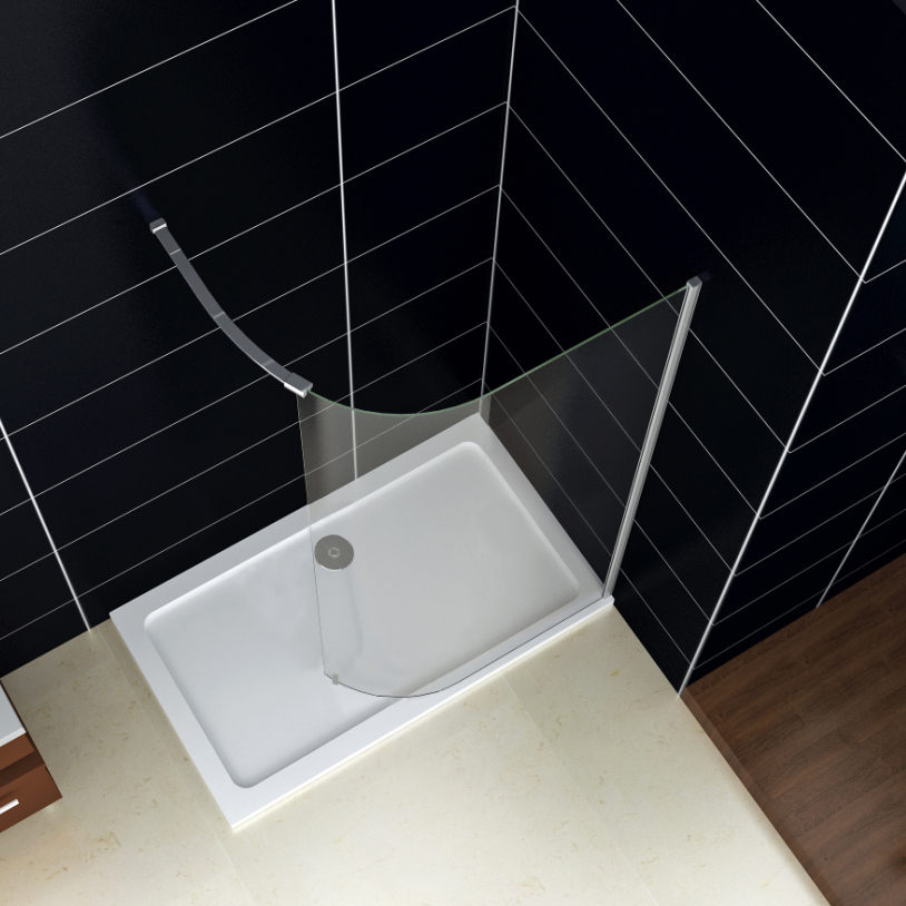 Shower Tray And Glass Door